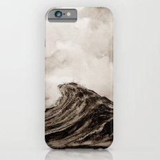 The WAVE - sepia iPhone 6s Slim Case