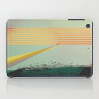 go away, black clouds iPad Case