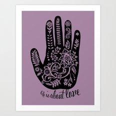 Life and Love Art Print