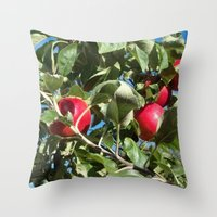Apples to Apples Throw Pillow