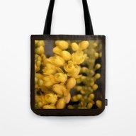 Tiny Yellow Blossoms Tote Bag