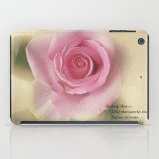 Go Lovely Rose iPad Case