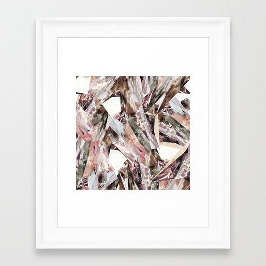 Arnsdorf SS11 Crystal Pattern Framed Art Print