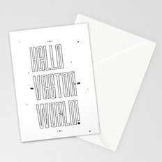 Hello world ! Stationery Cards