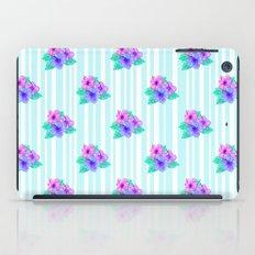 Hibiscus and Stripes iPad Case