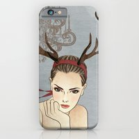 iPhone & iPod Case featuring Costume Party 1 by Vivian Lau