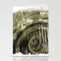 1800's Gravestone Art Se… Stationery Cards