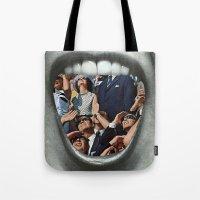 Untitled Vintage Collage Tote Bag