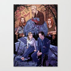 Conversations With Dead People Canvas Print