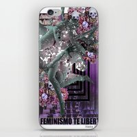 Feminism 2 iPhone & iPod Skin