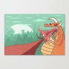 Beowulf Canvas Print
