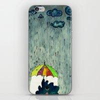 Oh! Raining Night iPhone & iPod Skin