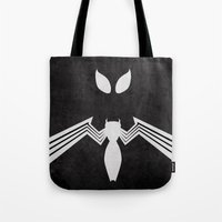 Spider-Man Black Costume Tote Bag