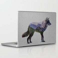 The Rocky Mountain Gray Wolf Laptop & iPad Skin
