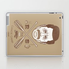 Ron Swanson Canoe Camp (dirty brown variant) Laptop & iPad Skin