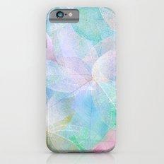 Pastel Colored Leaf Skeletons iPhone 6 Slim Case