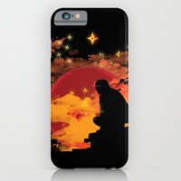 iPhone & iPod Case featuring NINJA NIGHT SHOWDOWN by KIMKONG