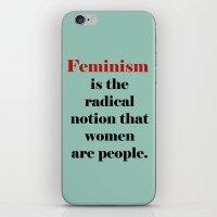 Feminism  iPhone & iPod Skin