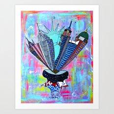 INSPIRE NEW YORK!  Art Print