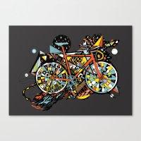 FIX TRIP ~ BLACK Canvas Print