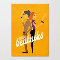 New Beatniks Canvas Print