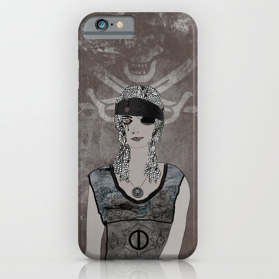 Weeping Pirates iPhone & iPod Case