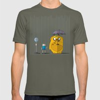 Adventure Time Totoro Mens Fitted Tee Lieutenant SMALL