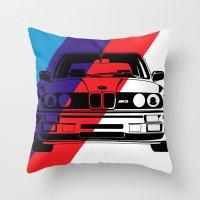 E30 M3 Throw Pillow