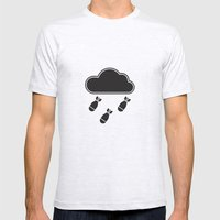 cloudbomb Mens Fitted Tee Ash Grey SMALL