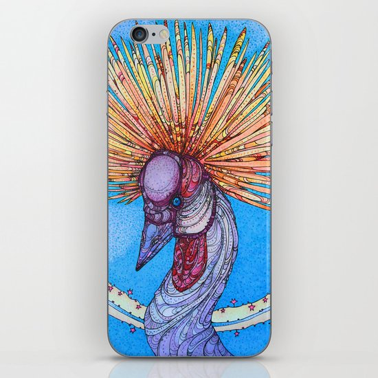 Crowned Crane iPhone & iPod Skin