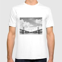Vanishing Point Mens Fitted Tee White SMALL