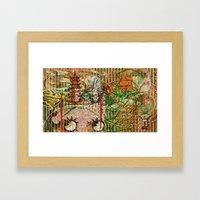 The Interlocking Mechani… Framed Art Print