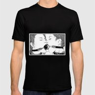 Apollonia Saintclair 519… Mens Fitted Tee Black SMALL