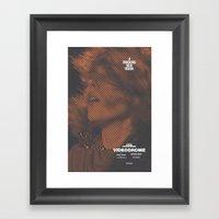 VIDEODROME Movie Poster Framed Art Print