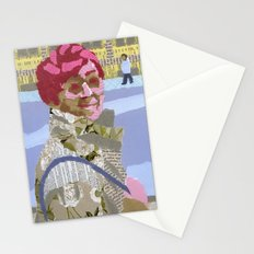 Passers (Passants) Stationery Cards