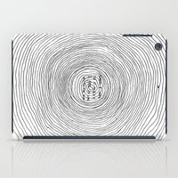 fell in love with the sun iPad Case