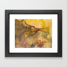 Hurricane Pass Framed Art Print