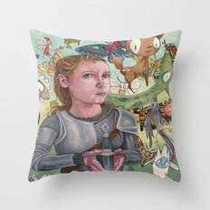 Protecting Your Imagination Throw Pillow