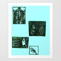 A Sudden Realization Par… Art Print