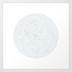 #366 The nautilus fracture – Geometry Daily Art Print