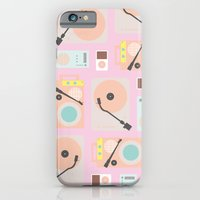 iPhone & iPod Case featuring Music Lover Pastel by Leandro Pita