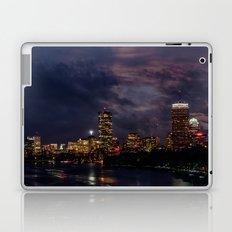 Boston at night  Laptop & iPad Skin