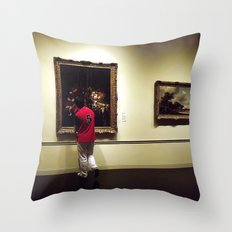 Night at the Museum Throw Pillow