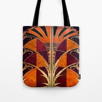 Gold Deco Tote Bag