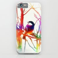 iPhone Cases featuring Color VII by Christine Belanger
