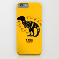 iPhone Cases featuring Dino Deli by victor calahan