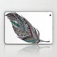 Single Aztec Feather  Laptop & iPad Skin