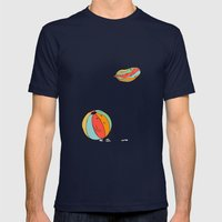 Ballons Mens Fitted Tee Navy SMALL