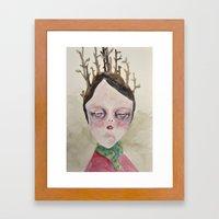 Winter Cold Framed Art Print