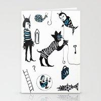 Crooner Fantasy Stationery Cards